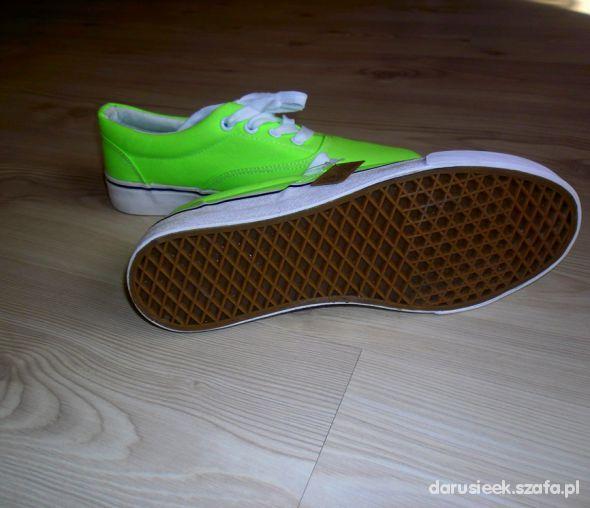 Vansy zielone 38
