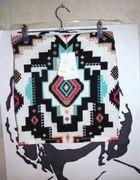 aztecka spódnica bershka...