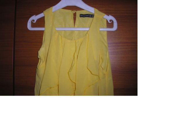 Cytrynowa żółta mgiełka s m