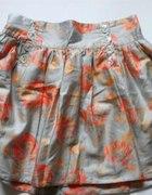 rozkloszowana spódniczka kwiaty MORELA Atmosphere