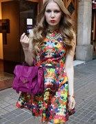 SUKIENKA H&M multicolor