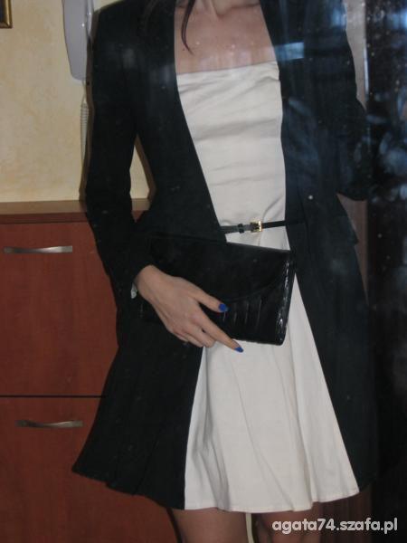 Eleganckie czern i biel