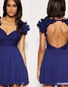 ASOS chabrowa sukienka