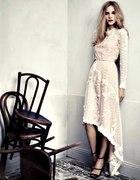 sukienka haftowana...