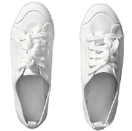 trampki h&m białe