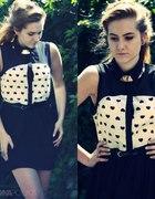 Cute and Retro Romwe Chiffon Dress