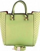 NOWA miętowa torebka shopper bag