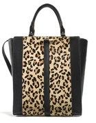 ZARA Shopper Bag Leopard Panterka