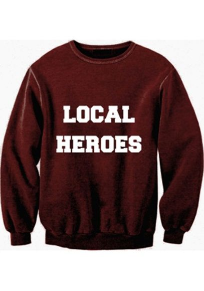 bluza local heroes...