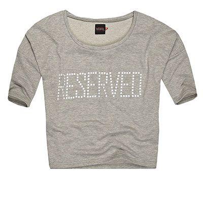 Bluzy bluza szara RESERVED