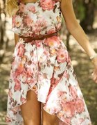 Asymetryczna spódnica sukienka