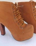 lity camel botki camel szpilki czółenka buty