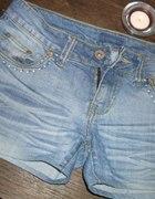 Spodenki jeans 38