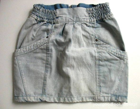 jeansowa spódnica cropp S