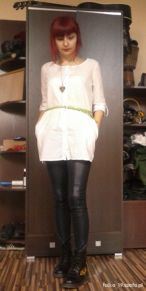 Mój styl Biała koszula