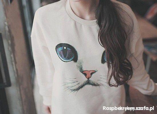 Bluzy romwe kot pyszczek