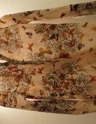 TOP SECRET koszula tunika w stylu boho motyle S