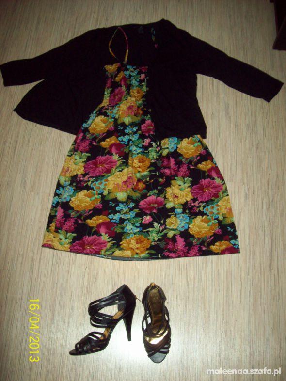 Romantyczne Kwiecista sukienka