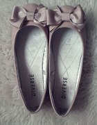 Cudne balerinki kokardki DIVERSE...