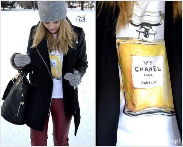 Ubrania Oversize perfumy chanel