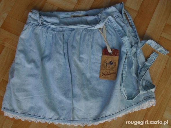 Spódnica Fishbone New Yorker korronka jeans...