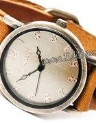Zegarek Retro Punk Skórzany ćwieki Vintage ZN22
