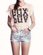 H&M spodenki i bluzka