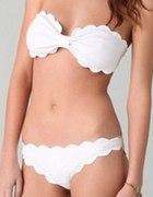 Prześliczne bikini falbanka...