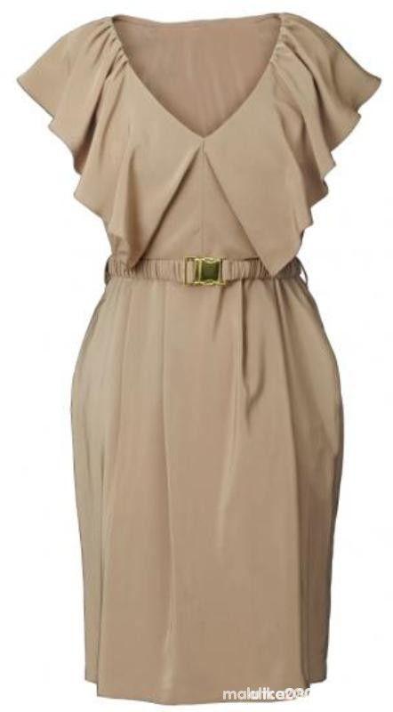 Sukienka cappucino H&M