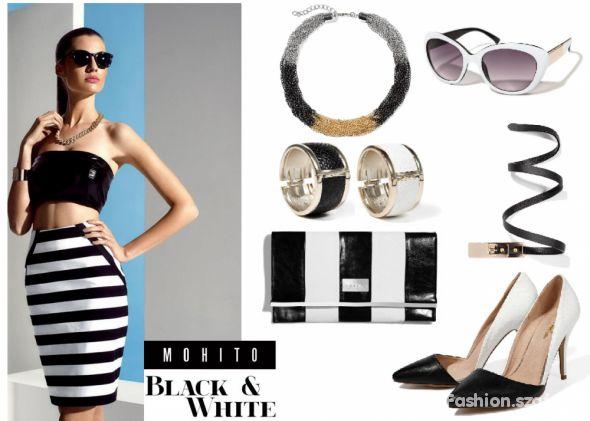 Mój styl Mohito Black & White