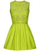 sukienka limonka EXCLUSIVE CONSCIOUS