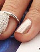 cyrkonie nakładka na paznokcia
