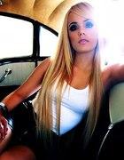 Piękny blondzik