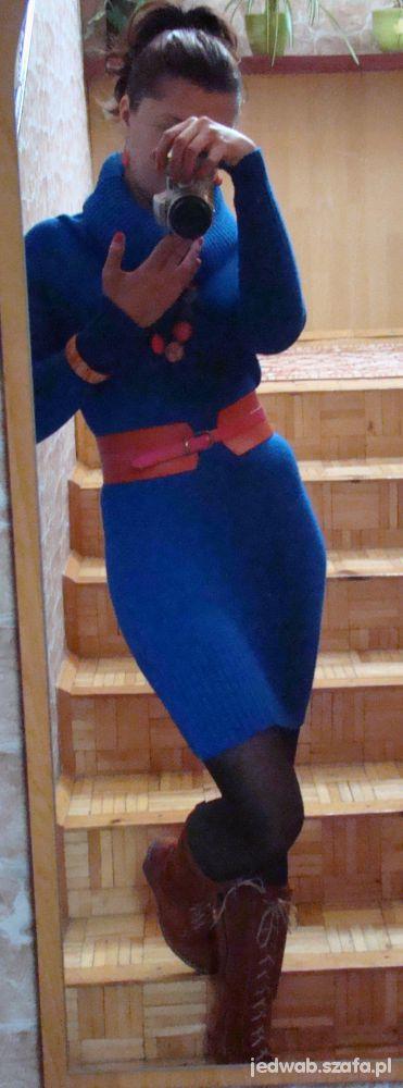 Mój styl Kobalt i pomarańcz