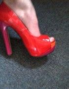 red pink orange...