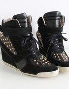 ZARA wedge sneakers...