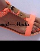 neon pomaranczowe