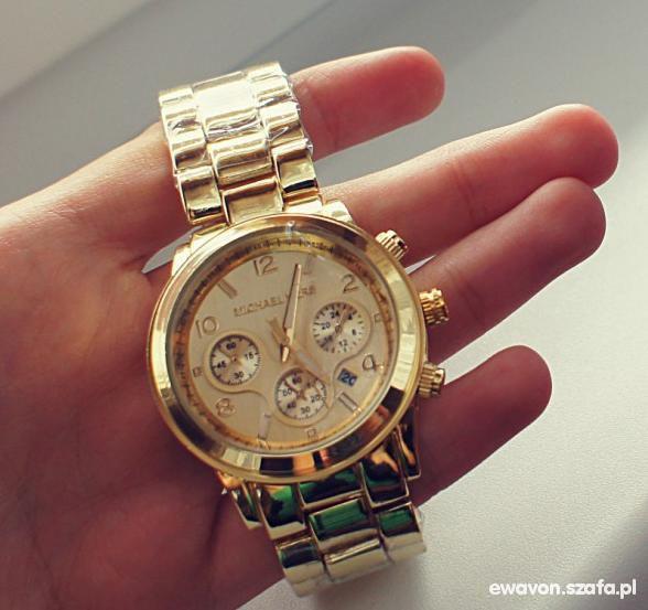 Zegarek Michael Kors z datownikiem NOWY