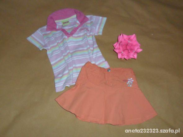 Komplety Bluzeczka i spódniczka 98 104
