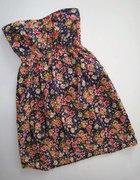 Sukienka floral za grosze...