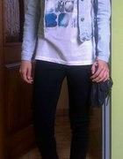 jeansowa katanka