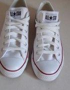 Białe trampki Converse krótkie...