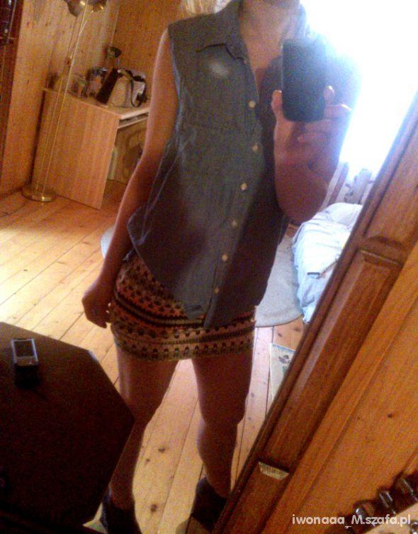 Mój styl aztec jeans