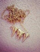 Łańcuszek złote zęby