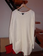 H&M sweterek łaty...