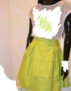 Spódnica LIMONKA rozkloszowana piękna...