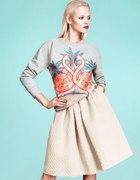 Spódnica H&M bluza H&M flemingi...