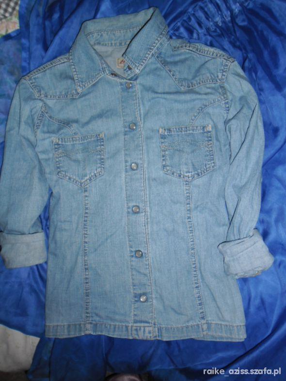 koszula jeansowa S