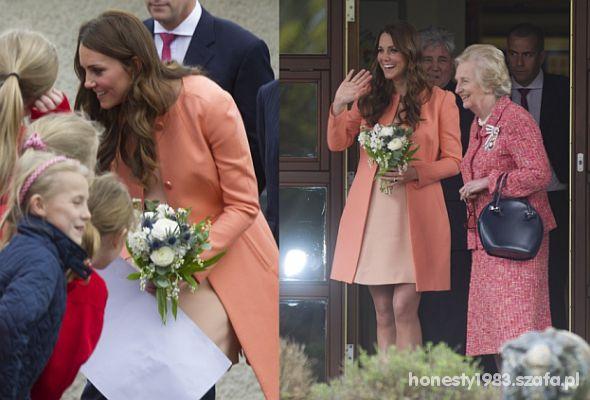 Piękny płaszczyk księżnej Kate