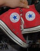 Converse czerwone 38 i pół...